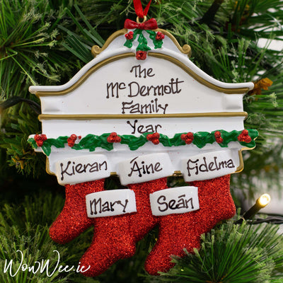 Personalised Christmas Decorations - Mantle 5