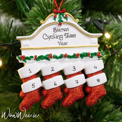 Personalised Christmas Ornaments - Mantle 8