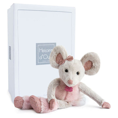 Star Mouse Plush Toy - Glitter Hugs DouDou et Compagnie - not personalised