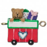 Personalised Linking Train - Single Carriage Female Style 1