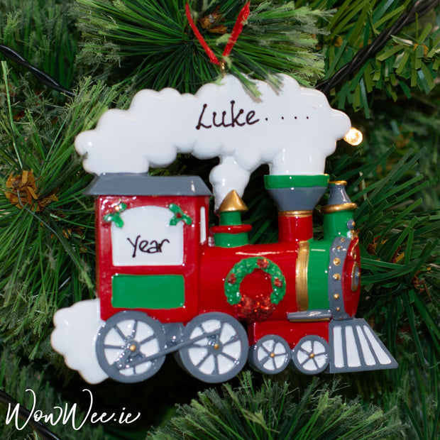 Personalised Christmas Ornament - Train