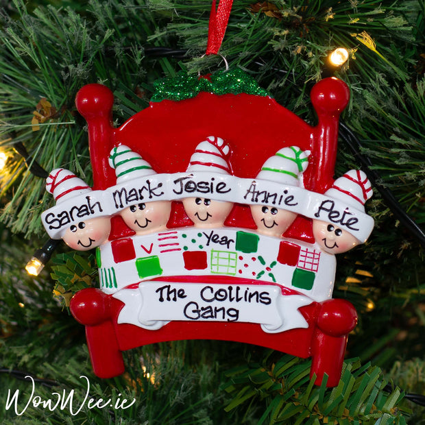 Personalised Christmas Decorations - Bed Heads 5