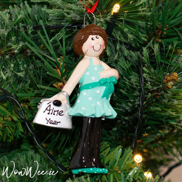 Personalised Christmas Tree Ornament is a lovely way to always remember the Christmas before welcoming a new little arrival and celebrating Baby's 1st Christmas.