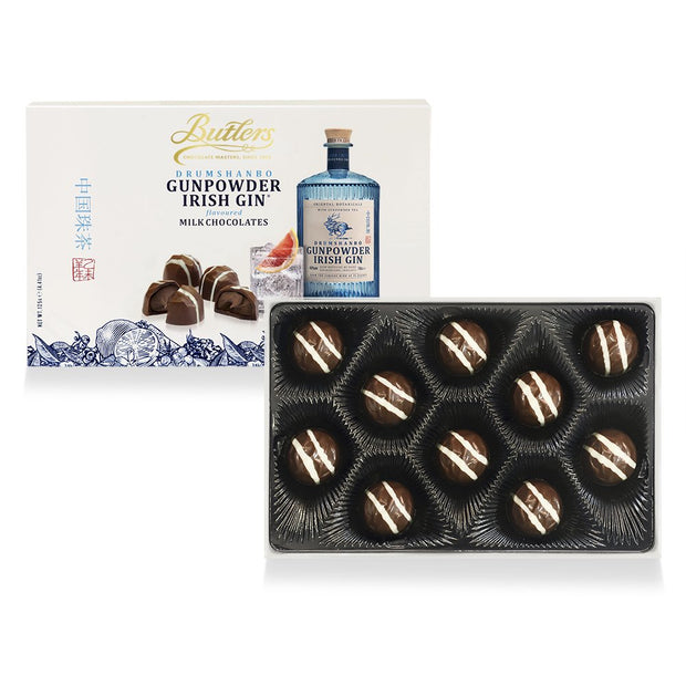 Butlers Chocolates - Gunpowder IRISH Gin Milk Chocolates - Not Personalised