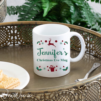 Personalised Christmas Mug - Christmas Eve