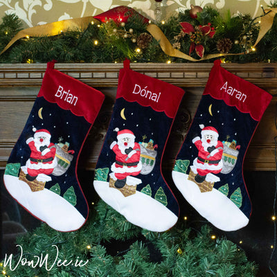 Personalised Christmas Stockings | Personalised Stockings | Personalised Christmas Stocking | WowWee.ie