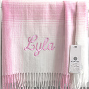 Personalised Baby Blanket for Girls - Little Bo Peep by NcNutt of Donegal