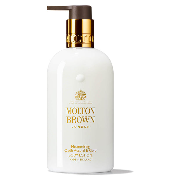 Mesmerising Oudh Accord & Gold Body Lotion - Luxurious - 300ml