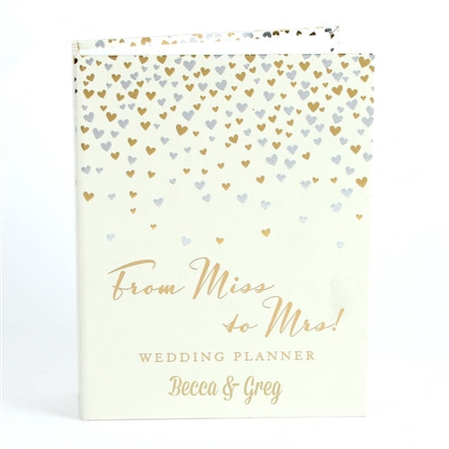 Personalised Wedding Planner - From Miss to Mrs