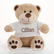 Personalised Teddy Bear - Brown Paws