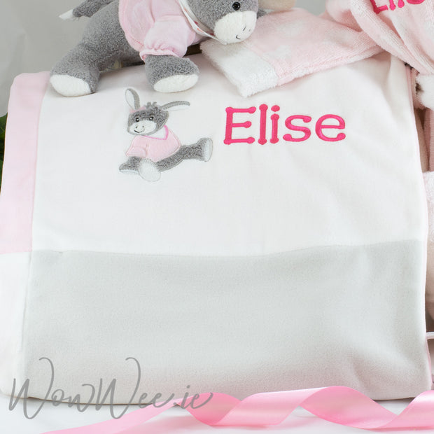 Personalised Baby Blanket for Girls - Emmi
