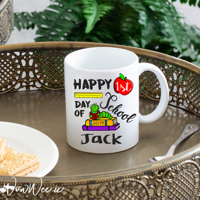 Personalised Mug - Happy First Day of School