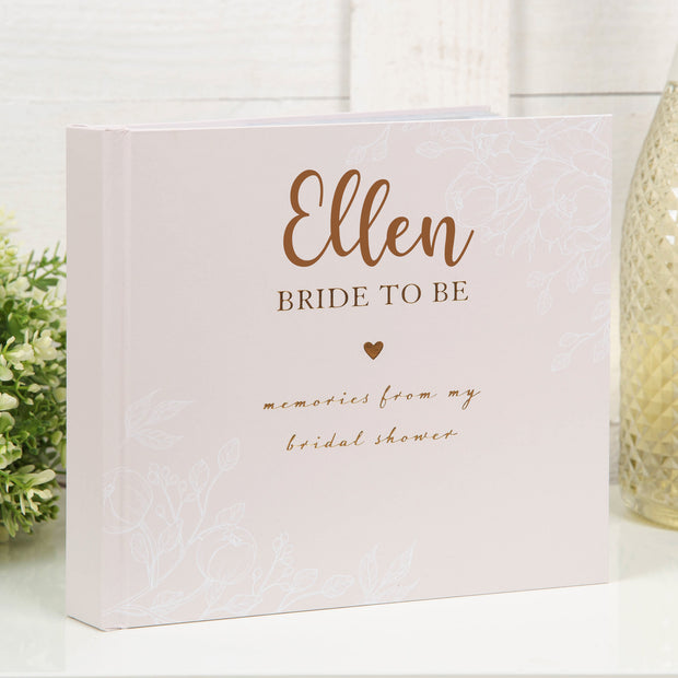 Personalised Bride to Be Album