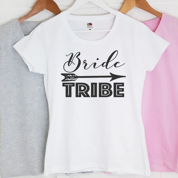 Personalised Hen Night T-Shirts - Bride Tribe
