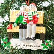 Personalised Christmas Ornament - Park Bench for 2