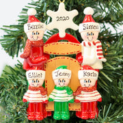 Personalised Christmas Tree Decoration - Sledding 5 - WowWee.ie Personalised Gifts