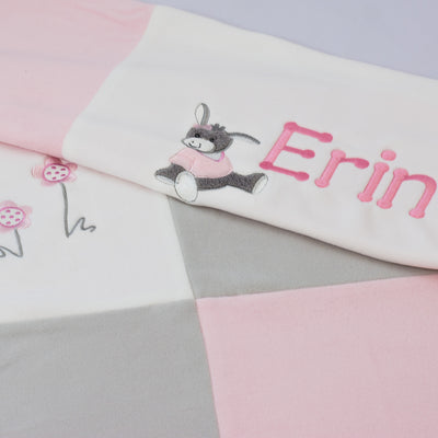 Personalised Baby Blanket for Girls - Emmi by Sterntaler - BEST Seller