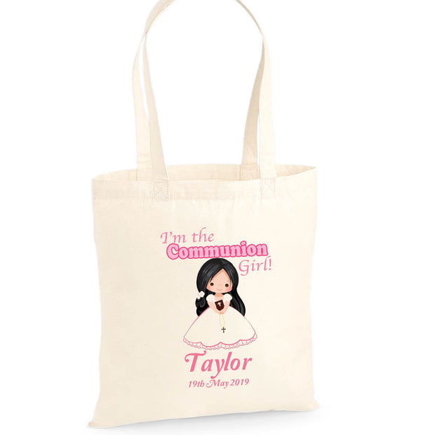 Personalised Communion Tote Bag | Personalised Communion Gifts for Girls | Personalised Communion Gifts | First Holy Communion Gifts Ireland | WowWee.ie