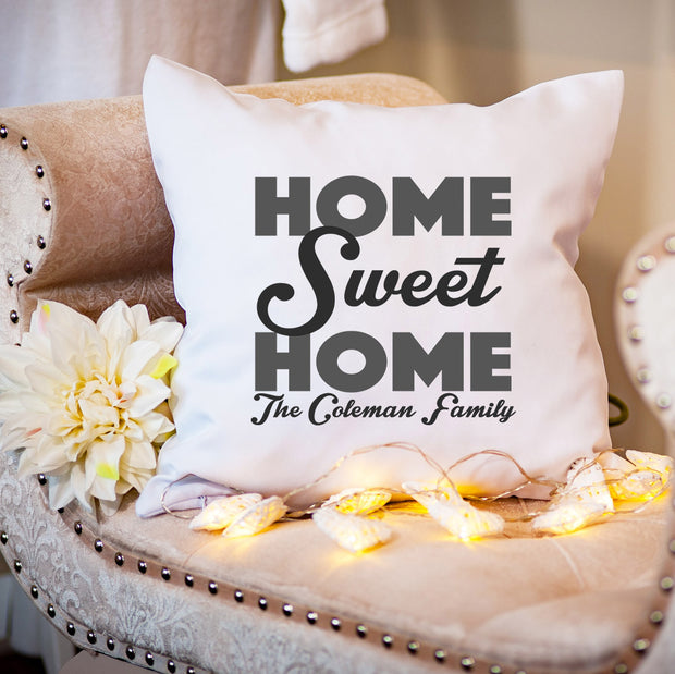 Personalised Cushion - Home Sweet Home