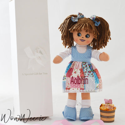 Personalised Rag Doll - Ella Rose