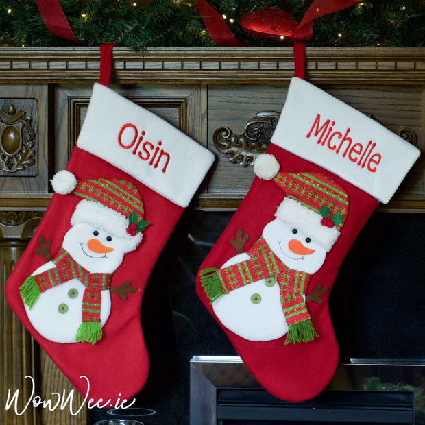 Personalised Christmas Stockings in the extra large size are perfect to give to children as they can be filled with lots of Christmas presents and treats. Out Stockings truly do bring Christmas magic to everyone who orders them.
