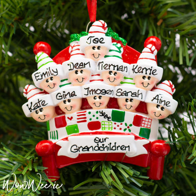 Personalised Christmas Ornament - Bed Heads 10