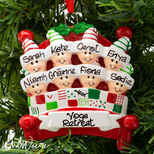 Personalised Christmas Ornament - Bed Heads 8