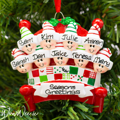 Personalised Christmas Ornament - Bed Heads 9