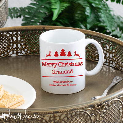 Personalised Christmas Mug - Reindeer