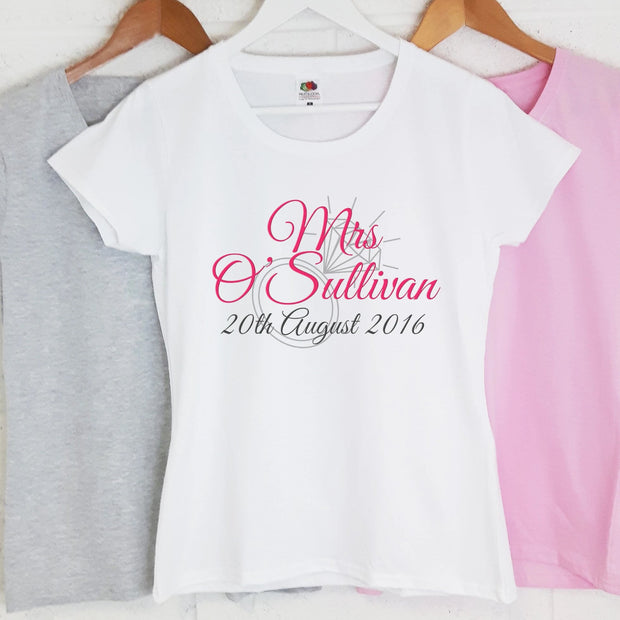 Personalised Hen Night T-Shirts - Ring