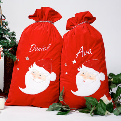 Personalised Christmas Sacks | Santa Sacks Personalised | Personalised Santa Sacks | WowWee.ie