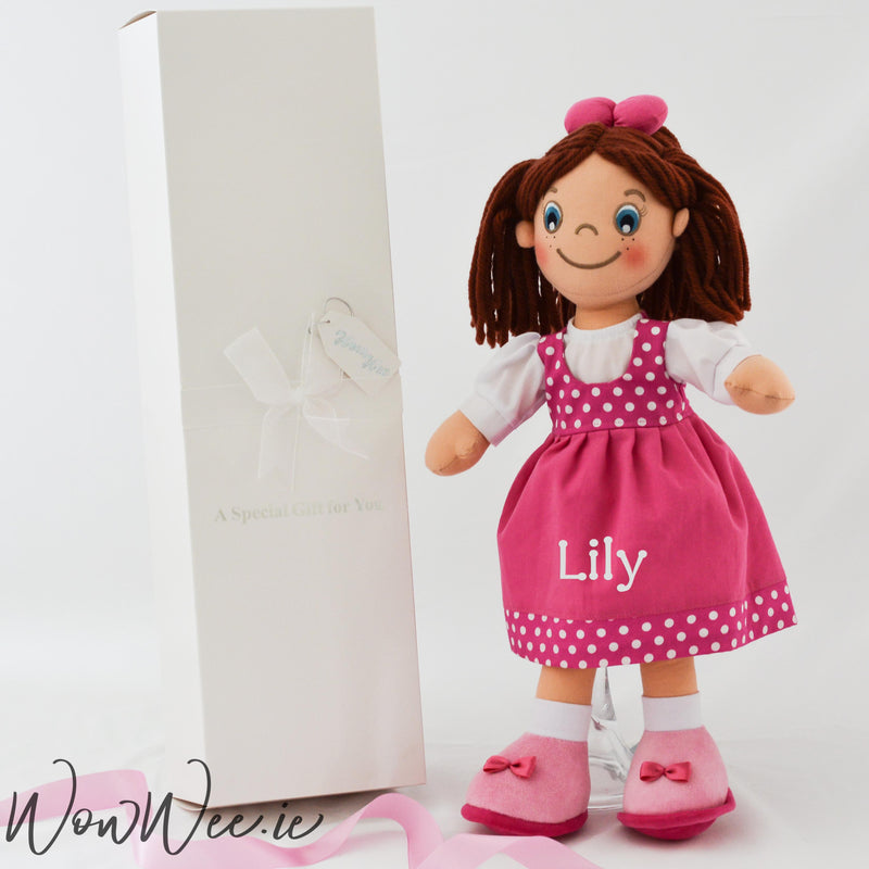 Personalised Rag Doll - Mischievous Maeve - WowWee.ie Personalised Gifts