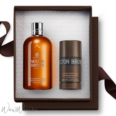 Molton Brown Fresh Black Peppercorn for Men - Personalised Gift Set