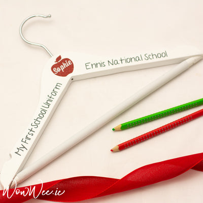 Personalised First Day of School Hanger - My First Uniform