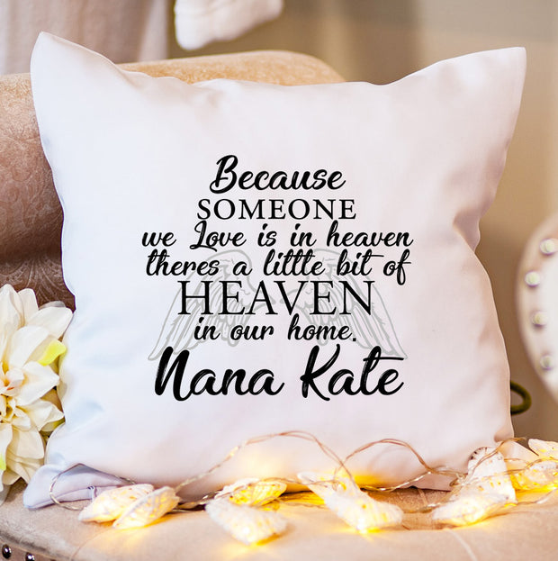 Personalised Cushion - A Little Bit of Heaven - WowWee.ie Personalised Gifts