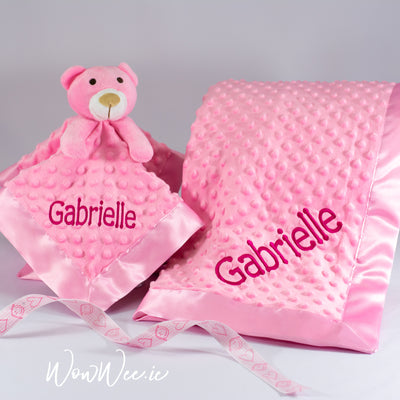 Personalised Baby Gift Set - Comfort Her Collection