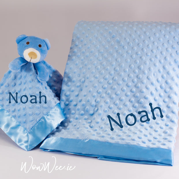 Personalised Baby Gift Set - Comfort Him Collection