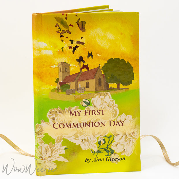 Personalised Children's Book - My First Communion Day For Boys