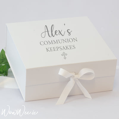 Personalised First Holy Communion Keepsake Box