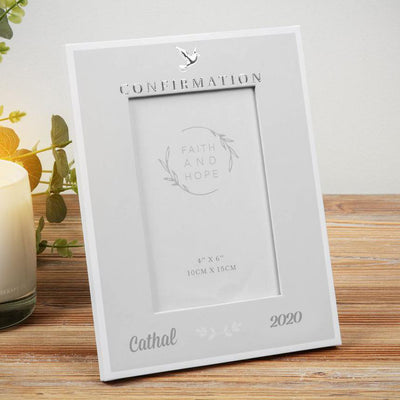 Personalised Confirmation Photo Frame - Faith & Hope