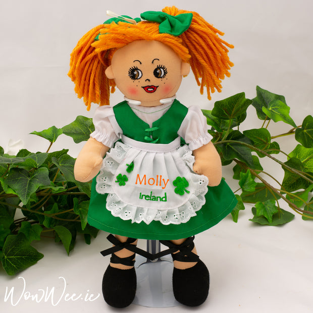 Personalised Rag Doll - Molly Malone Rag Doll