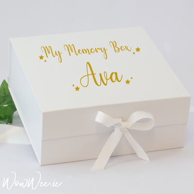 Personalised Keepsake Box - My Memory Box