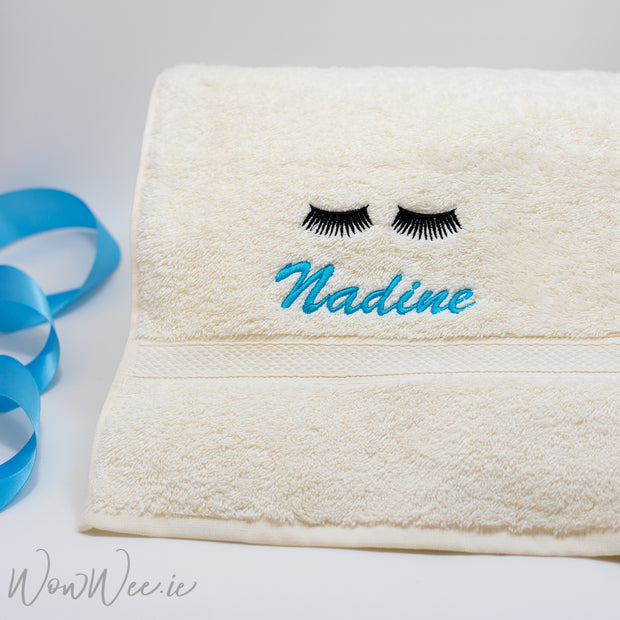 Personalised Bath Towel for Women - Choose your Embroidery Design