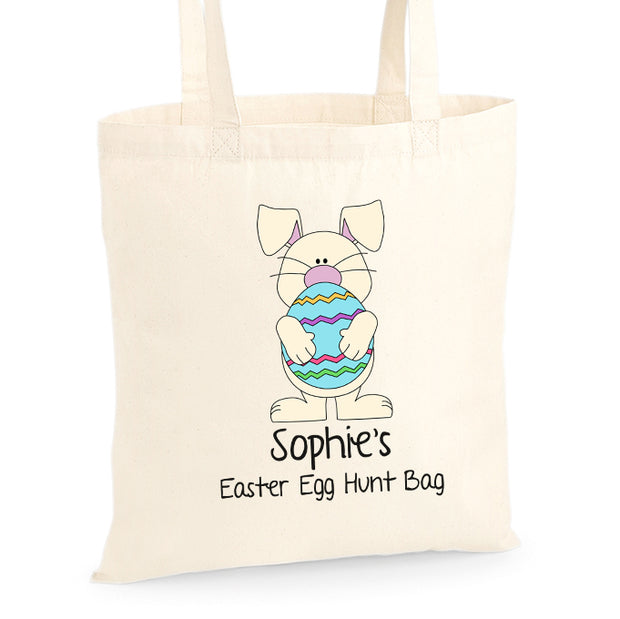Personalised Egg Hunt Bag -