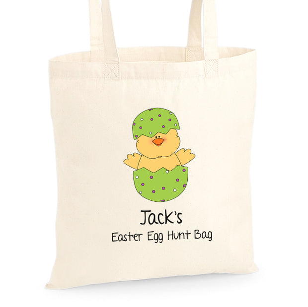 Personalised Egg Hunt Bag -  Hatching