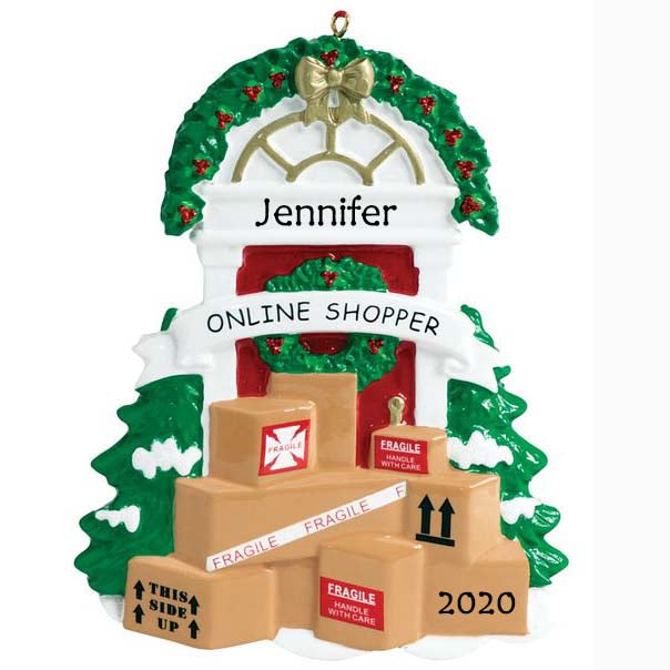 Personalised Christmas Ornament - Online Shopper