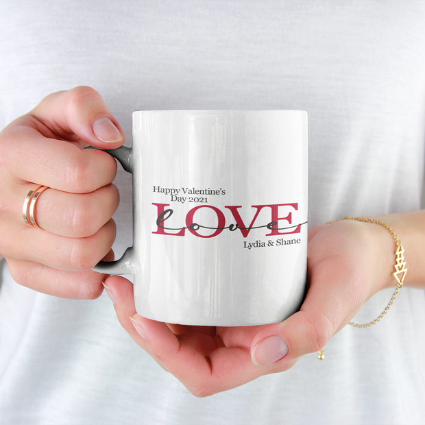 Personalised Valentine's Day Gifts | Personalised Valentine's Mug | Personalised Gifts for Valentine's Day 2021 | WowWee.ie