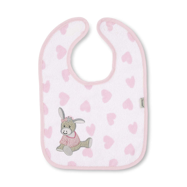 Personalised Velcro Bib - Emmi Girl