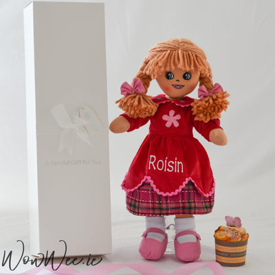 Personalised Rag Doll - Pretty Poppy