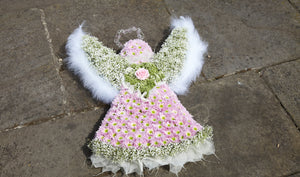 pink Angel funeral tribute